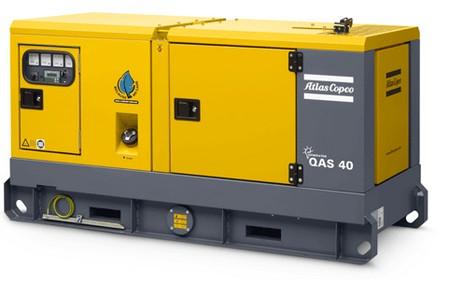 Дизельный генератор QAS 40 FLX